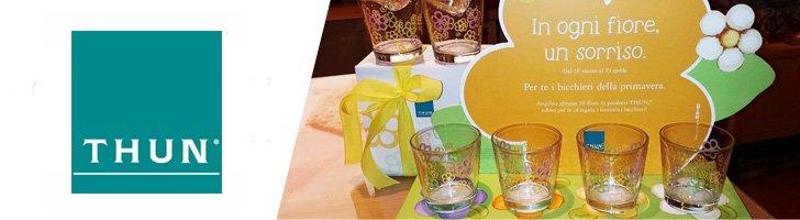 Thun regala bicchieri in omaggio for Thun in offerta